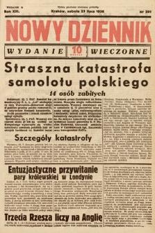 Nowy Dziennik (wydanie wieczorne). 1938, nr201