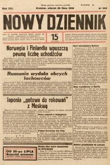 Nowy Dziennik. 1938, nr204