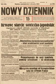 Nowy Dziennik. 1938, nr210