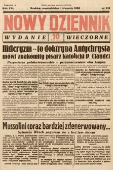 Nowy Dziennik (wydanie wieczorne). 1938, nr210