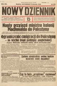 Nowy Dziennik. 1938, nr217