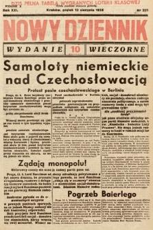 Nowy Dziennik (wydanie wieczorne). 1938, nr221