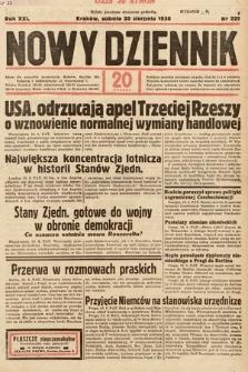 Nowy Dziennik. 1938, nr229