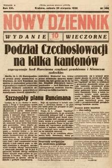 Nowy Dziennik (wydanie wieczorne). 1938, nr229