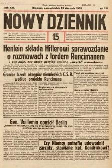 Nowy Dziennik. 1938, nr231