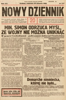 Nowy Dziennik. 1938, nr237