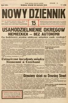Nowy Dziennik. 1938, nr239