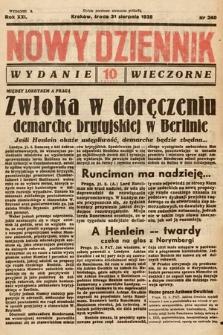 Nowy Dziennik (wydanie wieczorne). 1938, nr240
