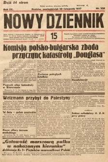 Nowy Dziennik. 1937, nr328
