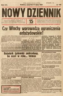 Nowy Dziennik. 1938, nr199