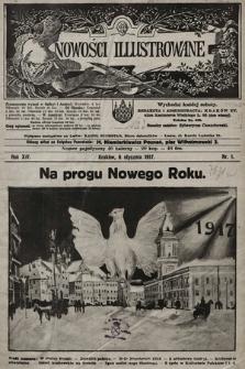 Nowości Illustrowane. 1917, nr1