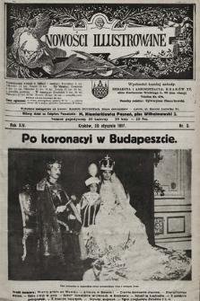 Nowości Illustrowane. 1917, nr3