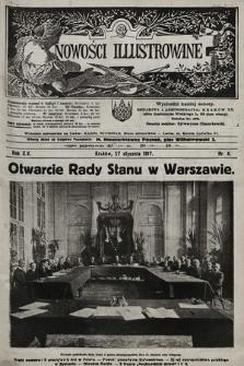 Nowości Illustrowane. 1917, nr4