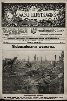 Nowości Illustrowane. 1917, nr11