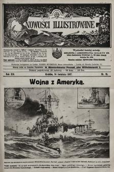 Nowości Illustrowane. 1917, nr15