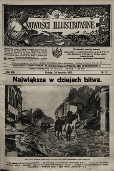 Nowości Illustrowane. 1917, nr17