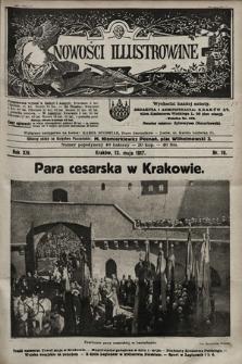 Nowości Illustrowane. 1917, nr19