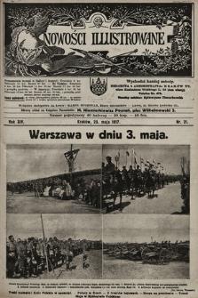 Nowości Illustrowane. 1917, nr21