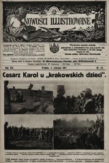 Nowości Illustrowane. 1917, nr22