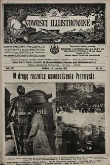 Nowości Illustrowane. 1917, nr24