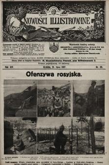 Nowości Illustrowane. 1917, nr28