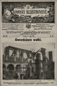 Nowości Illustrowane. 1917, nr29