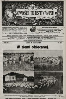 Nowości Illustrowane. 1917, nr36