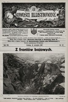 Nowości Illustrowane. 1917, nr37