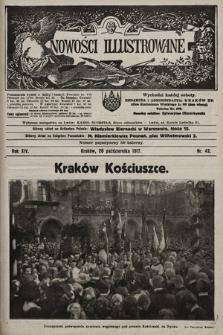 Nowości Illustrowane. 1917, nr42