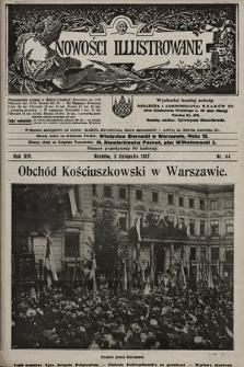 Nowości Illustrowane. 1917, nr44