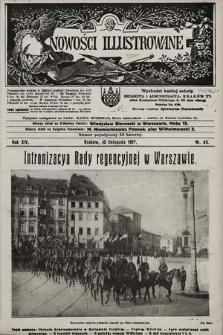 Nowości Illustrowane. 1917, nr45