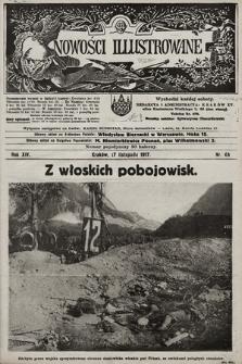 Nowości Illustrowane. 1917, nr46