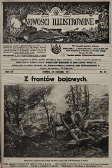 Nowości Illustrowane. 1917, nr47