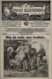 Nowości Illustrowane. 1917, nr51