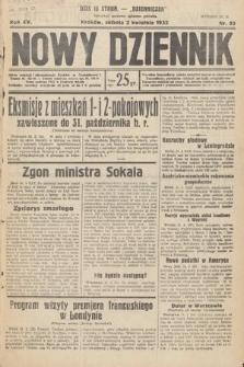 Nowy Dziennik. 1932, nr90