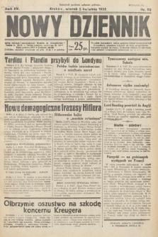 Nowy Dziennik. 1932, nr93