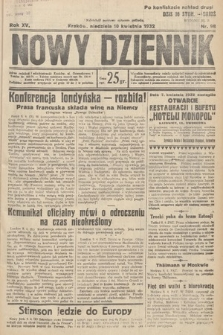 Nowy Dziennik. 1932, nr98