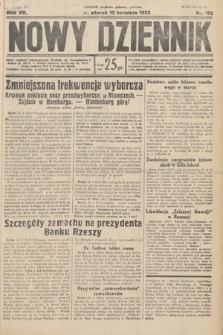 Nowy Dziennik. 1932, nr100