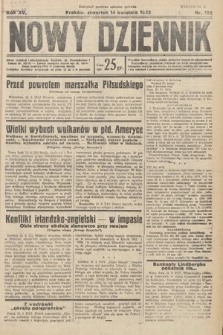 Nowy Dziennik. 1932, nr102