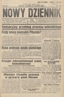Nowy Dziennik. 1932, nr105
