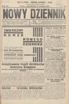 Nowy Dziennik. 1932, nr106