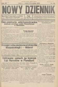 Nowy Dziennik. 1932, nr107