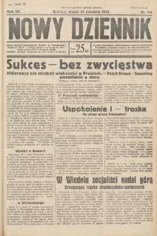 Nowy Dziennik. 1932, nr114