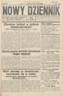 Nowy Dziennik. 1932, nr158