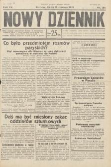 Nowy Dziennik. 1932, nr161
