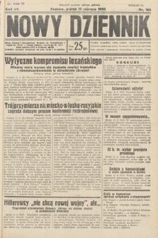 Nowy Dziennik. 1932, nr163