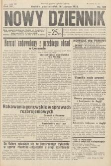 Nowy Dziennik. 1932, nr166