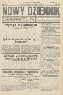 Nowy Dziennik. 1932, nr168