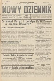 Nowy Dziennik. 1932, nr171