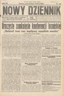 Nowy Dziennik. 1932, nr187